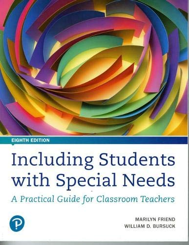 Download Including Students with Special Needs: A Practical Guide for Classroom Teachers (8th Edition) 0134801679