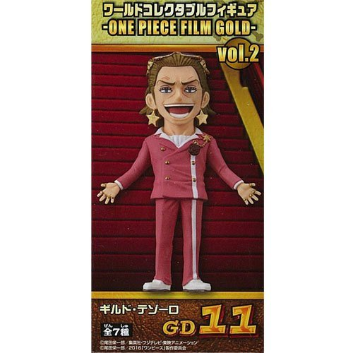 ワンピース ワールドコレクタブルフィギュア ONE PIECE FILM GOLD vol.2 ギルド・テゾーロ 単品 (プライズ)