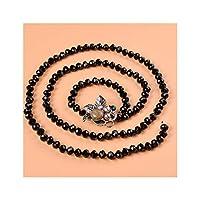 エレガントなエスニック風のクリスタルウエストチェーン女性の春と夏のモデルのスカートの宝石の象眼細工のバックルベルト装飾チェーン子供,黒