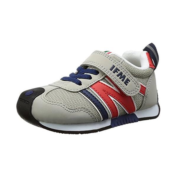 [イフミー] 運動靴 30-7705 グレー 1...の商品画像