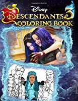 Descendants 3 Coloring Book: Premium Coloring Book Based On Disney Channel Original Film 2019 (Unofficial)