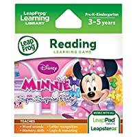LeapFrog Disney Minnie's Bow-tique: Super Surprise Party ミニー スーパーサプライズパーティ ソフトウェア カートリッジ 日本正規品