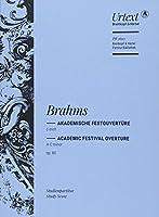 ブラームス: 大学祝典序曲 Op.80/原典版/ブライトコップ & ヘルテル社/スタディ・スコア