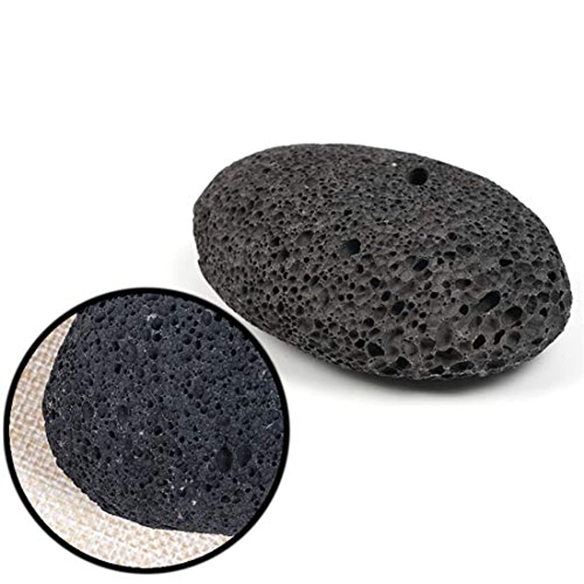 バブル縁石代替天然溶岩軽石火山岩石スクラブデッドスキンカルスリムーバーケアフットスキンケアツール