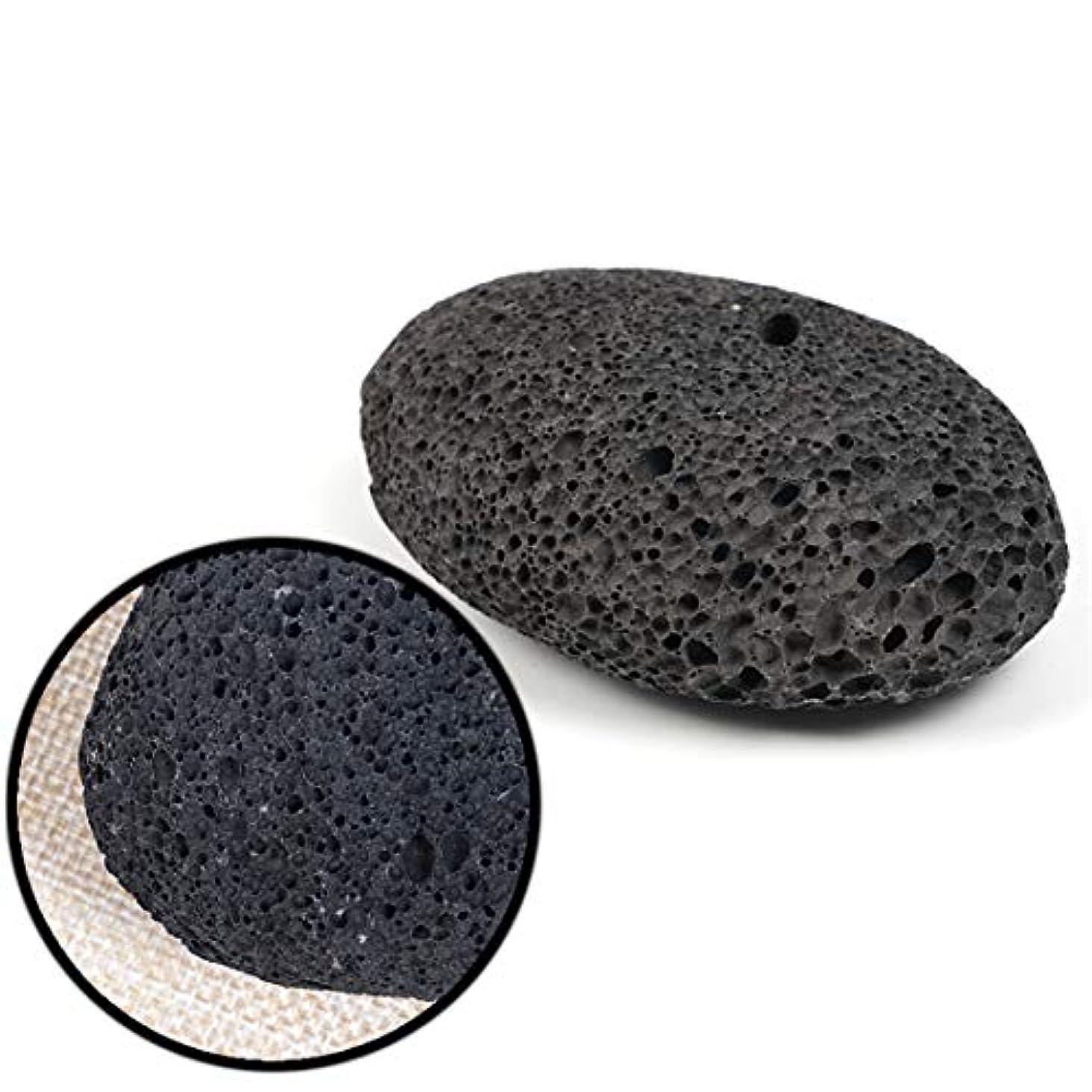 岩習字策定する天然溶岩軽石火山岩石スクラブデッドスキンカルスリムーバーケアフットスキンケアツール