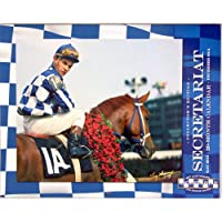 collectible Secretariat 40th Anniversary Triple Crown 20ヶ月カレンダー