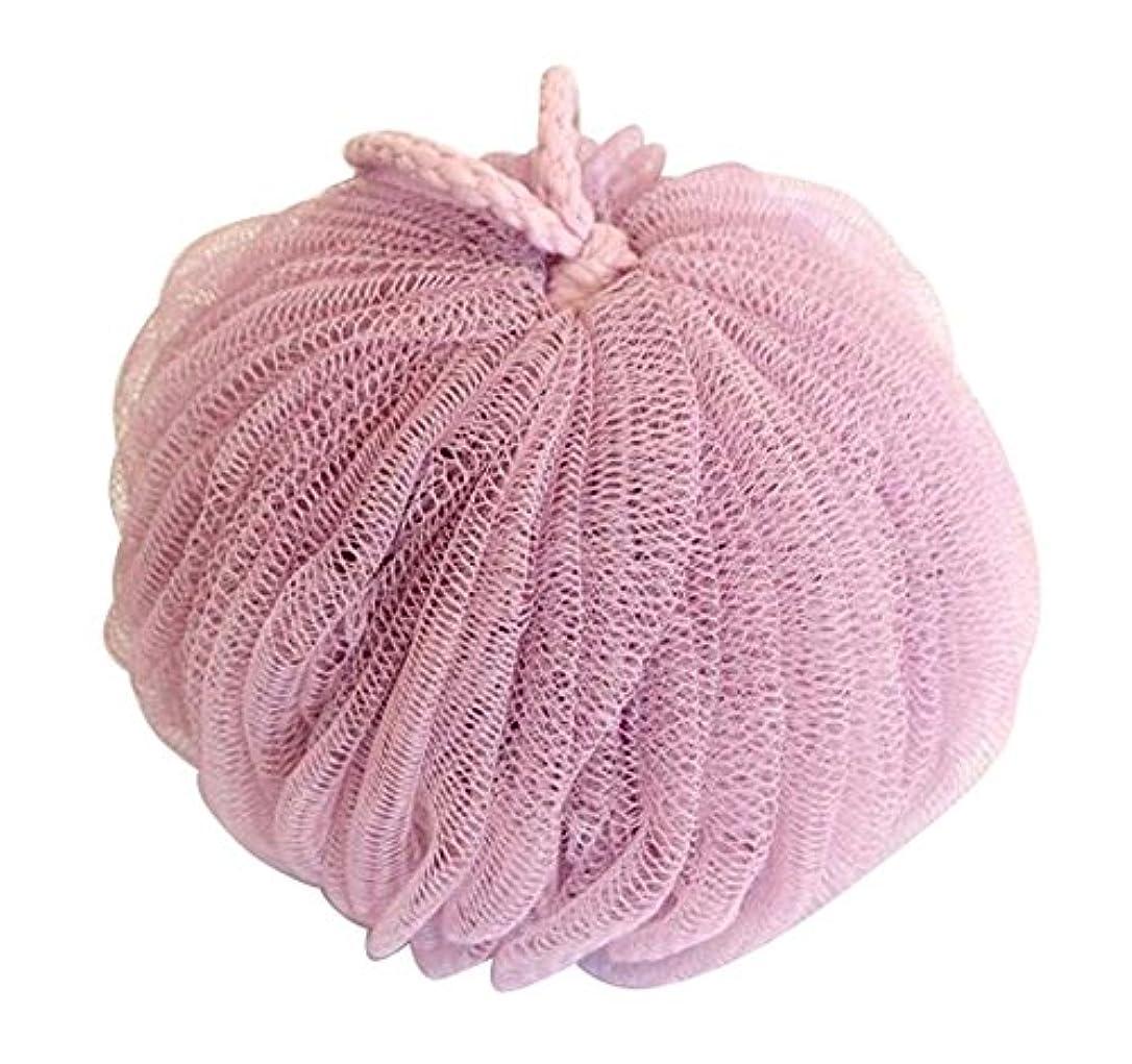 綺麗な、花弁バスボールファインメッシュブリスター増粘バスバターフラワー、ピンク 耐久性(2019 DSCD)