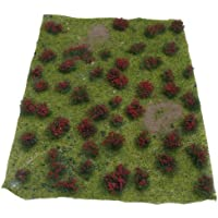 JTT Scenery Products Landscaping Details: Flowering Meadow Red, 5-7