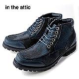in the attic 157-1018 メンズ ブーツ レースアップ モカシン M(25.0-25.5) カモ-カモフラ