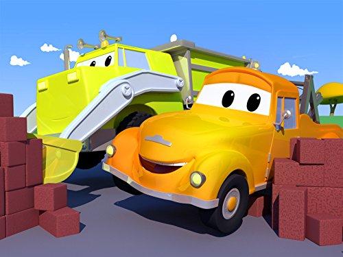 ダンプトラックのイーサンのブレーキが故障して壁に衝突!/タンカーのタイソンのポンプが破裂!/キットカーのケイティーのタイヤが燃える!/