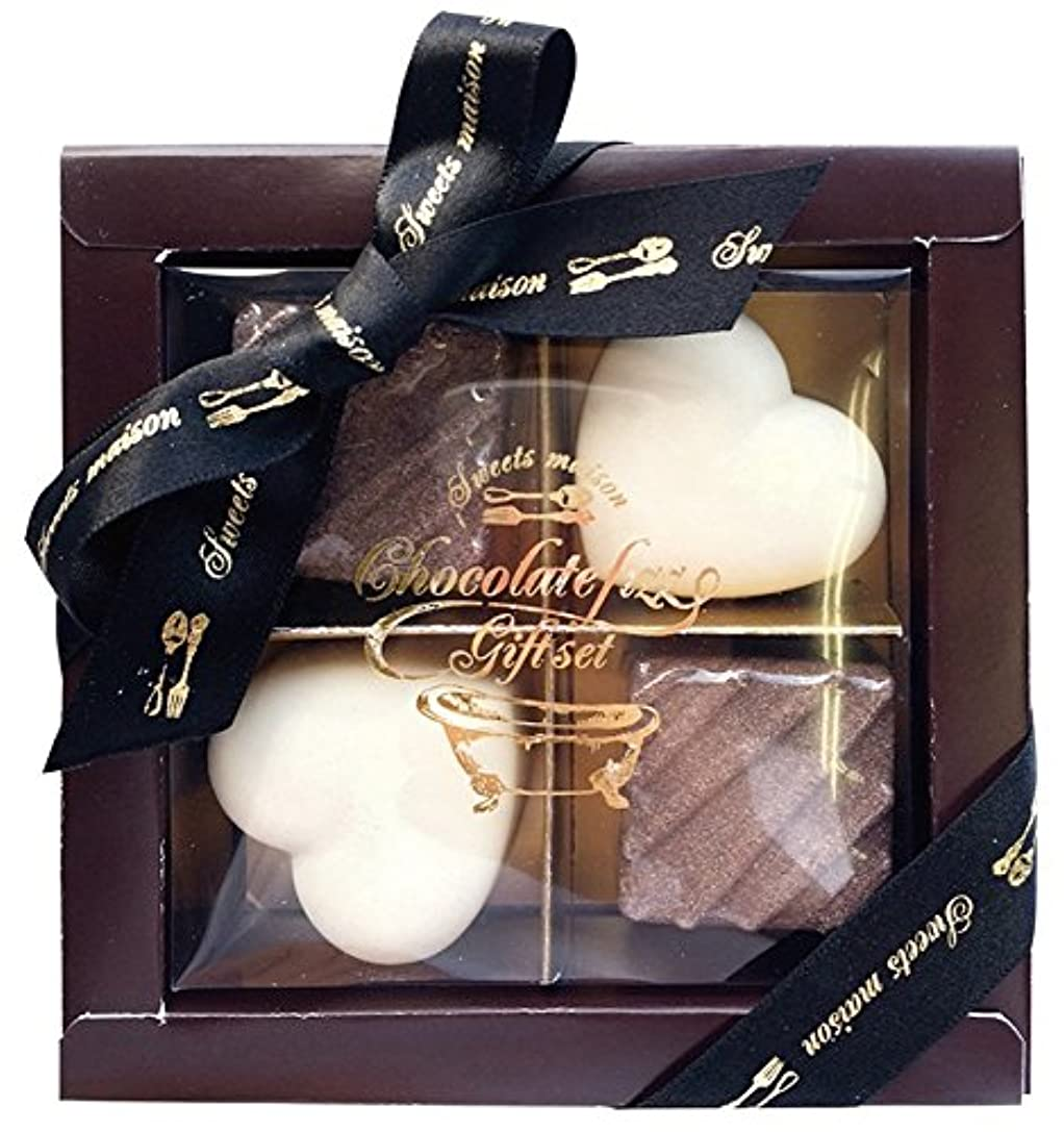 質量最終教えノルコーポレーション 入浴剤 ギフトセット チョコレートフィズ ブラウンボックス OB-SMG-5-1