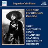Various: Legends Of Piano Vol.1 (Works By Saint-Saens/ D'Indy/ Chaminade/ Grieg/ Granados) by Various (2010-07-22)
