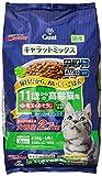 キャラットミックス 11歳からの高齢猫用+毛玉をおそうじ かつお味ブレンド 2.7kg(小分け6パック入/袋)