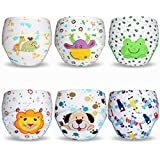 ElecMotive 6 Pack Baby Girl Boy Toliet Pee Potty Training Pants Diaper Nappy Underwear