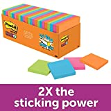 Post-it Super Sticky Notes, Rio de Janeiro Collection, 24 Pads Cabinet Pack, 3 x 3""