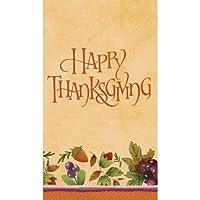 Thanksgiving Medley Guest Towels 16ct [並行輸入品]