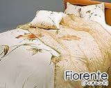 ランチェッティ Fiorenteフィオレント ボックスシーツ セミダブル  120×200×30cm  ローズ fio-bsd-A-1
