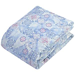 西川(Nishikawa) 掛けふとん ブルー シングル 洗える ダウンケット 4G8006N70-025
