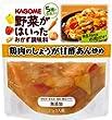 カゴメ 野菜がはいったおかず調味料 鶏肉のしょうが甘酢あん炒め 210g×8袋