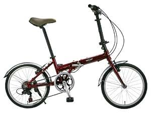 MINI(ミニ) アルミ製20インチ7段変速折りたたみ自転車 MINI AL-FDB207