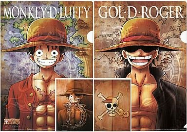 一番くじ ワンピース ~The Legend of GOL・D・ROGER編~ H賞 クリアファイル ゴール・D・ロジャー
