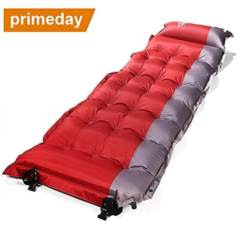 指標欠員ロシアOUTAD 軽量 自動膨張式 エアーマット テント 寝袋マット キャンピングマット キャンプマット