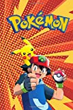 Pokemon: Notebook, Sticker Book, Guide, Activity Book, Colouring Book, For Beginners, Journal For Kindergarten, Grades K-2, Draw And Write, Diary, Primary Composition Notebook, Doodling Sketchbook, Story Notebook, Gift For Kids (100+ Ruled Lined Pages)