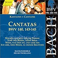 Sacred Cantatas Bwv 140 143-145 by J.S. Bach (2013-05-03)