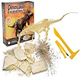 Awhao 3D Dinosaur Model Archaeological Excavation Toys Dinosaur Assembly Puzzle Model Toy DIY Educational Toys for Children