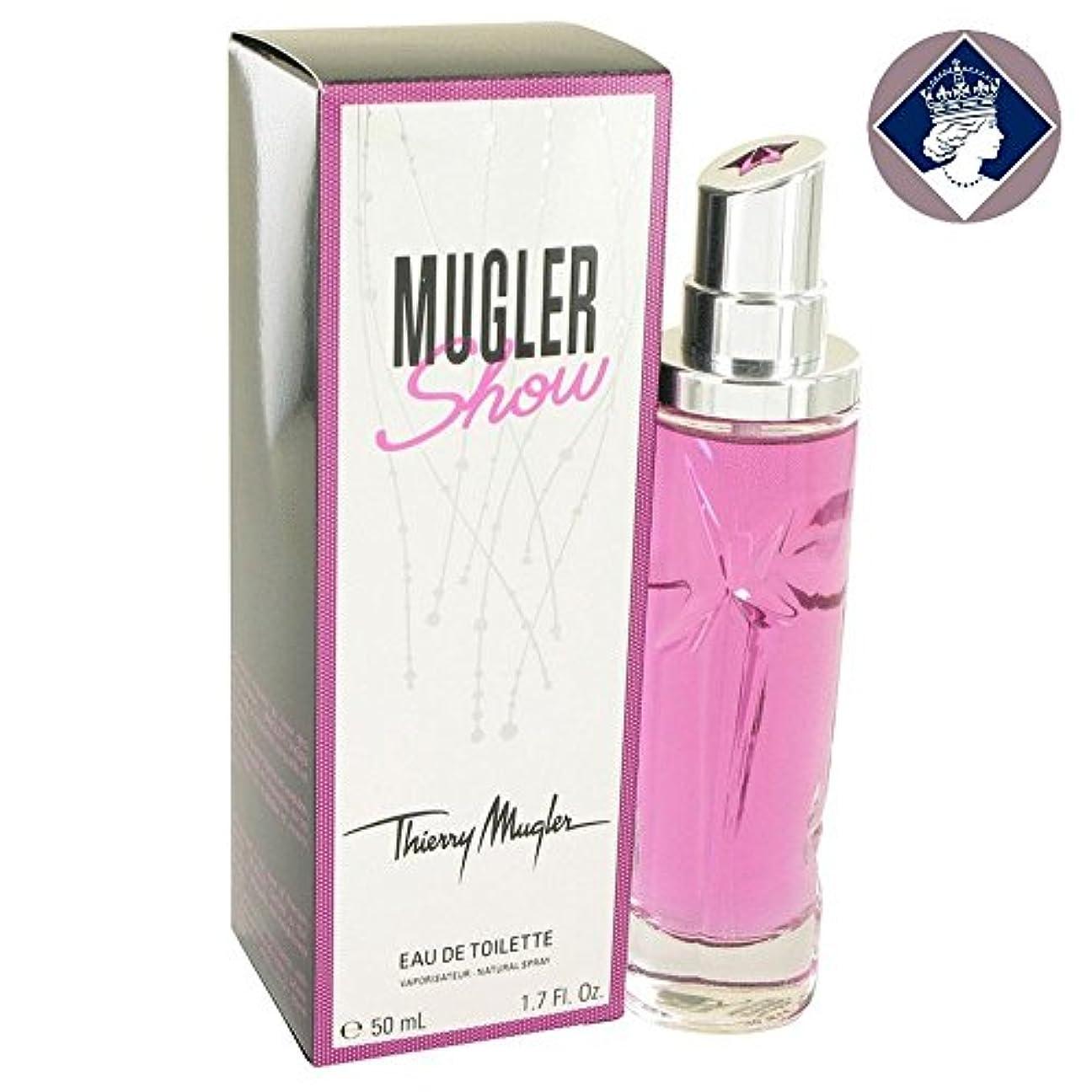 スーツケース五月パンフレットThierry Mugler Show 50ml/1.7oz Eau De Toilette Spray Perfume Fragrance for Women