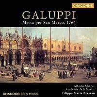 Galuppi: Messa per San Marco, 1766 /Athestis Chorus ・ Academia de li Musici ・ Bressan by Baldassare Galuppi (2003-11-17)