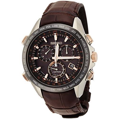 [アストロン]ASTRON 腕時計 ソーラーGPS衛星電波修正 サファイアガラス  スーパークリア コーティング  日常生活用強化防水(10気圧) クロコダイルバンド SBXB025 メンズ