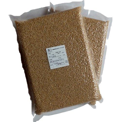 JAS有機栽培米あきたこまち 玄米20kg(真空パック2.5kg×8)