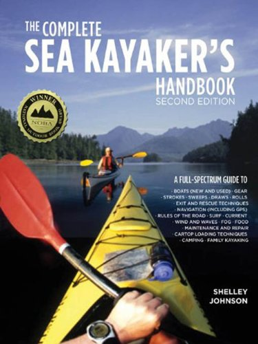 Book Cover Image - The Complete Sea Kayakers Handbook, Second Edition by Shelley Johnson (Author). Source: Amazon Australia