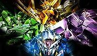 Mobile Suit Gundam 00 PLAYMAT CUSTOM PLAY MAT ANIME PLAYMAT #172 by MT