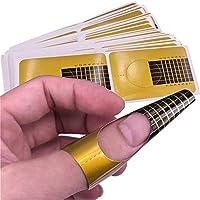 1st market 耐久性100ピース光線療法クリスタルアーマーエクステンションペーパートレイジェルフィンガーネイルエクステンションuvジェルポリッシュネイルアートペーパーケア