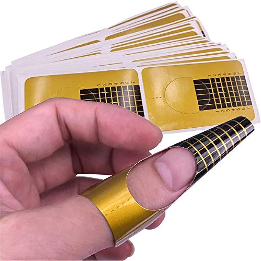 実施するブロー偽造1st market 耐久性100ピース光線療法クリスタルアーマーエクステンションペーパートレイジェルフィンガーネイルエクステンションuvジェルポリッシュネイルアートペーパーケア