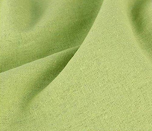 全23色 カラー 綿 麻 布 衣類用 無地 生地 幅1.5m...