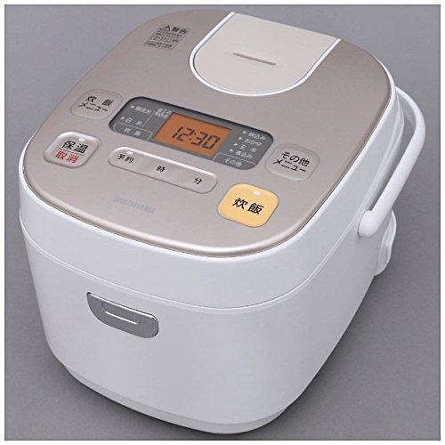 アイリスオーヤマ 炊飯器 KERC-MA50-W