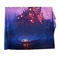 (ノタラス)Notalas 海・滝 風景 方形 ビーチタオル・レジャーマット・ブランケット・壁飾り・テーブル掛け おしゃれ 多用途 150*130cm 全8種類 Tapestry (E)