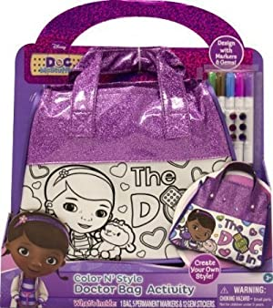 Tara Toy Doc McStuffins Color N Style Bag by Tara Toy TOY ドール 人形 フィギュア(並行輸入)