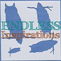 Endless Inspirations元ステンシル、6x 6インチ、Owl on Branch