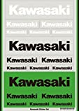 カワサキ純正 KAWASAKIステッカーセット14 J7010-0161