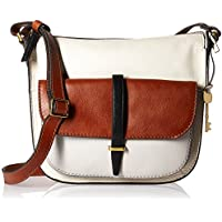 Fossil Women Ryder Handbag, Neutral Multi, 8.5 Inches L X 2 Inches W X 5.5 Inches H