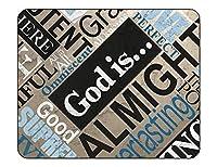 マウスパッド-クリスチャン#SN3神は良いイエス、全能の宗教