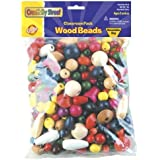 Big Bag of Wood Beads by Chenille Kraft [並行輸入品]