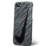 ナイキ テニス iPhone7 ケース カバー NIKE ナイキ GRAPHIC SWOOSH / ブラック / ホワイト