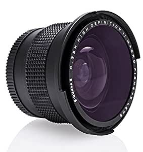 Canon,Nikon,Sony A/キャノン,ニコン,ソニー対応コンバージョン魚眼レンズ×0.35