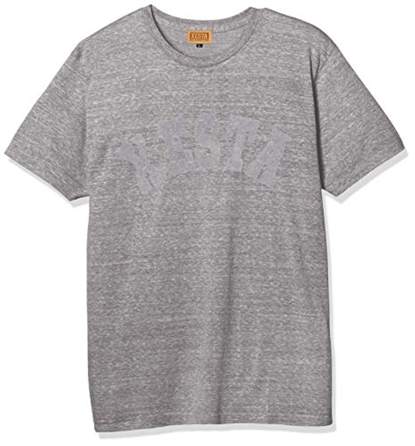 ブラザーサンダル織るゼスタ(XESTA) ヘザー Tシャツ (スローピッチ) ヘザーグレー XL