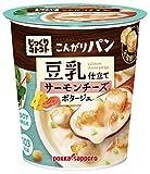 じっくりコトコトスープ こんがりパン豆乳仕立てサーモンチーズポタージュ 24.7g×6個